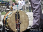 drum and horn of the Hunza valley